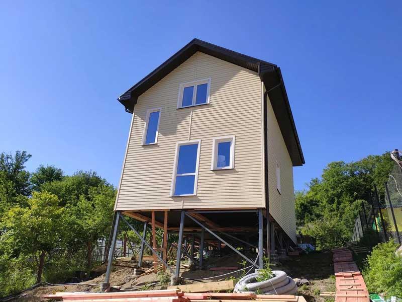 каркасный дом в Краснодарском крае